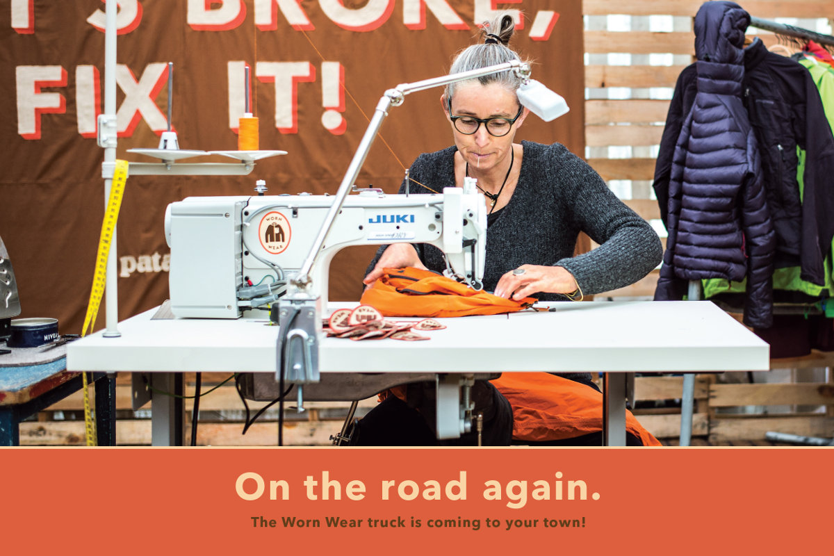 Worn Wear on the road again!